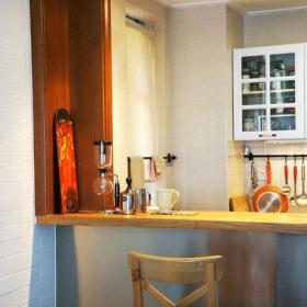 宜家餐厅厨房吧台射灯设计方案