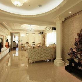 新古典客厅摆饰设计案例