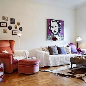 森女之家 46平温馨单身公寓