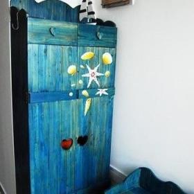 地中海储物柜挂画案例展示