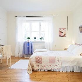 卧室梳妆台妆台双人床图片