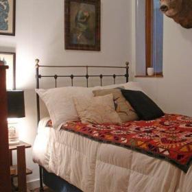 美式简约卧室挂画装修图