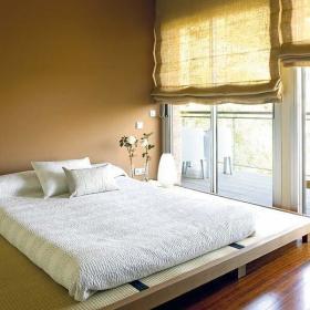 日式卧室榻榻米榻榻米床效果图