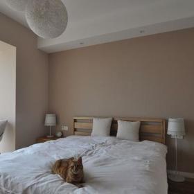卧室衣柜木床设计案例