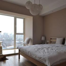 卧室实木地板木地板装修案例