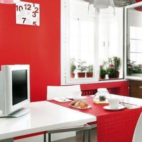 现代风格123平设计三居室