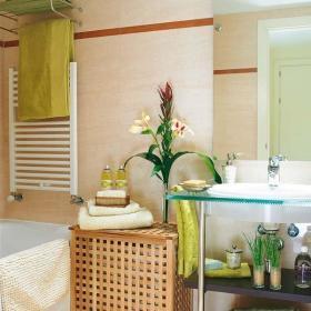 现代简约时尚卫生间洗手盆装修案例