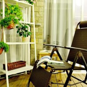 阳台花架设计图