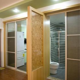 卫生间过道木门设计案例展示