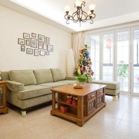 客厅沙发茶几实木茶几布艺沙发设计图
