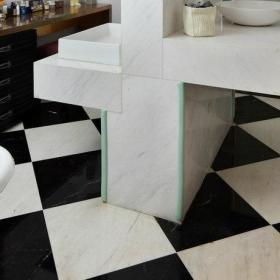 卫生间洗手盆马桶设计案例展示
