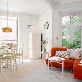 北欧自然北欧风格客厅沙发椅案例展示