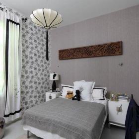 明清清新自然简约古典典雅卧室壁纸图片