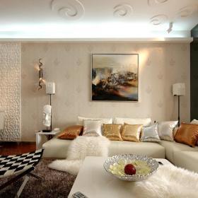 客厅沙发布艺沙发案例展示
