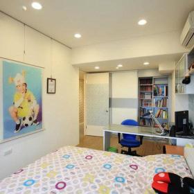 现代简约卧室儿童房挂画案例展示