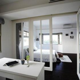 窗帘玻璃门设计图