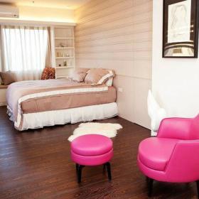 浪漫卧室椅躺椅卫浴装修图