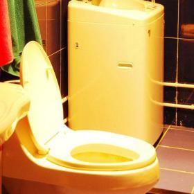 卫生间毛巾装修效果展示