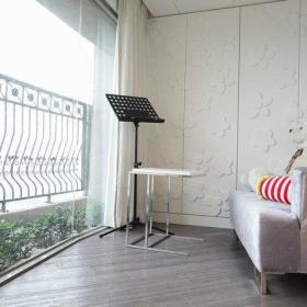 休闲区沙发茶几双人沙发设计案例展示