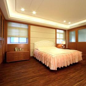 卧室木门木地板装修案例