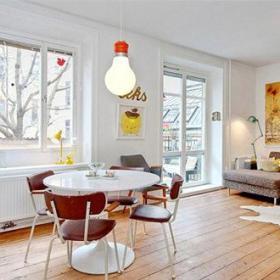 斯德哥尔摩色彩小公寓欣赏