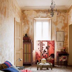 自然卧室卧室门壁纸效果图
