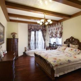 美式美式风格卧室沙发懒人沙发装修图