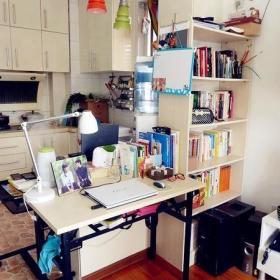 客厅厨房书架油烟机案例展示