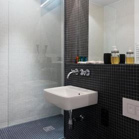 酒店卫浴马赛克装修案例