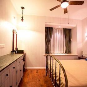 精致复古古典浪漫卧室床架设计方案