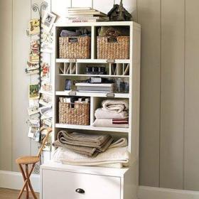 柜子相片墙设计图