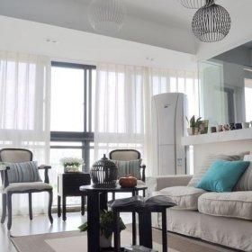 北欧复古现代简约北欧风格客厅沙发茶几椅设计案例展示