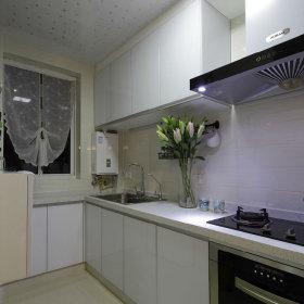 韩式自然厨房吊顶设计案例展示