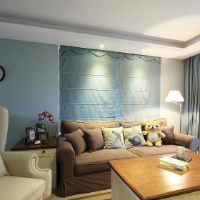 美式混搭沙发布艺沙发图片