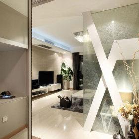 客厅玄关背景墙电视背景墙玄关柜案例展示