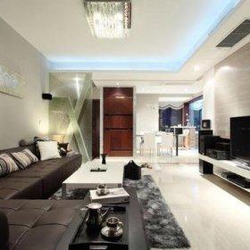 客厅电视柜茶几设计案例