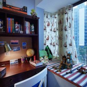 美式美式风格书房设计方案