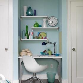卧室书房卫生间卧室门装修案例