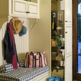 美式玄关玄关柜柜子装修图