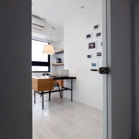清新简约温馨简约风格客厅书房椅装修案例