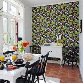 餐厅休闲区背景墙椅子椅设计案例