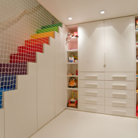 阁楼楼梯设计案例展示