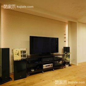 温馨时尚浪漫背景墙电视柜电视背景墙案例展示