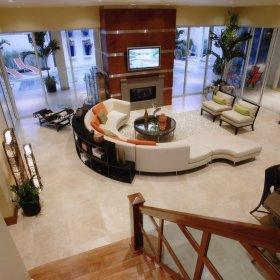 客厅别墅沙发单人沙发装修图