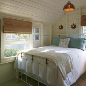 清新卧室书房儿童房阁楼设计案例