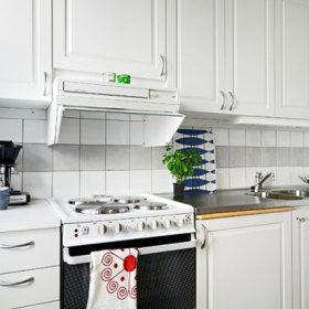 厨房单身公寓效果图