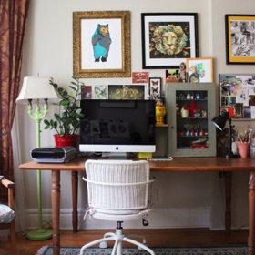 自然电脑椅椅装修图