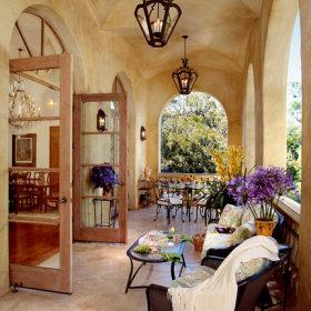 阳台别墅沙发茶桌设计案例展示