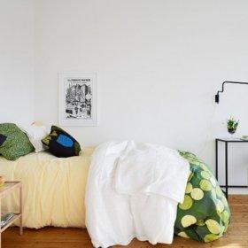 清新现代时尚卧室装修案例