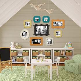 美式儿童房多功能室活动室装修图